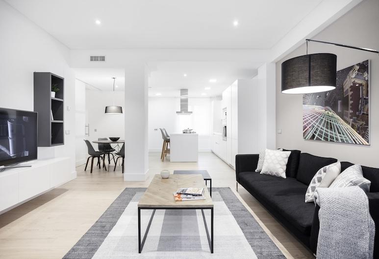 Velazquez Apartments by FlatSweetHome, Madrid, Apartment, 2 Bedrooms, Balcony (Velazquez IV), Living Area