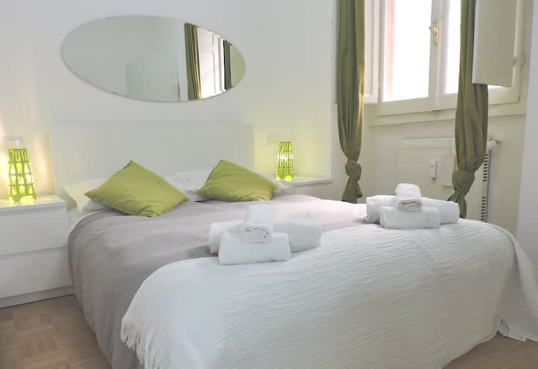 Key Apartments Cosimato, Roma, Apartemen, 2 kamar tidur, Kamar