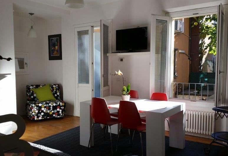 Travel House Bologna, Bologna, Căn hộ, 1 phòng ngủ, Phòng khách