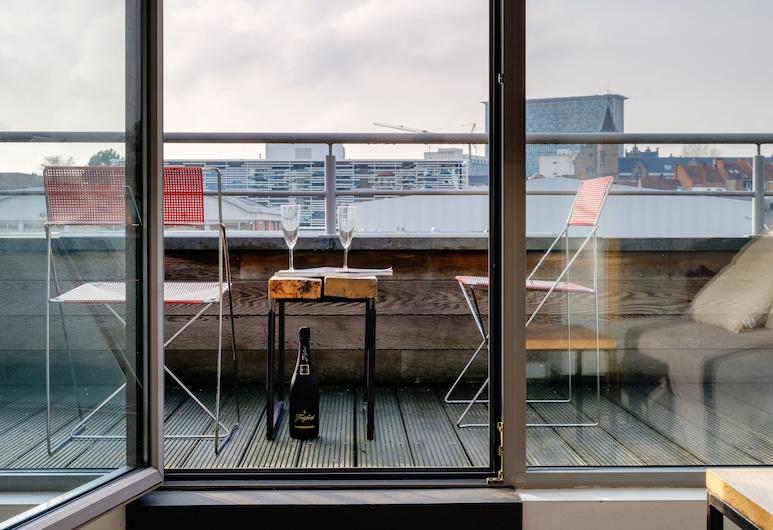 Edville Studio , Gante, Dúplex, terraza, Terraza o patio