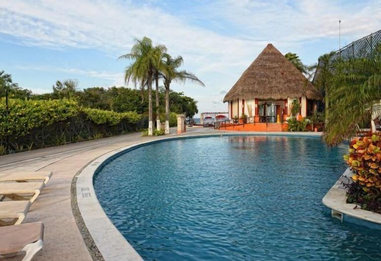 Tropical Location Riviera Maya, Xpu-Ha, Kolam Terbuka