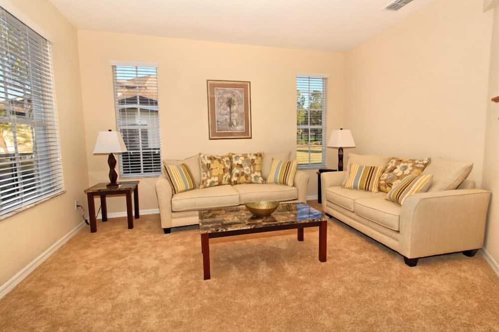 Apartmán, niekoľko spální - Obývačka