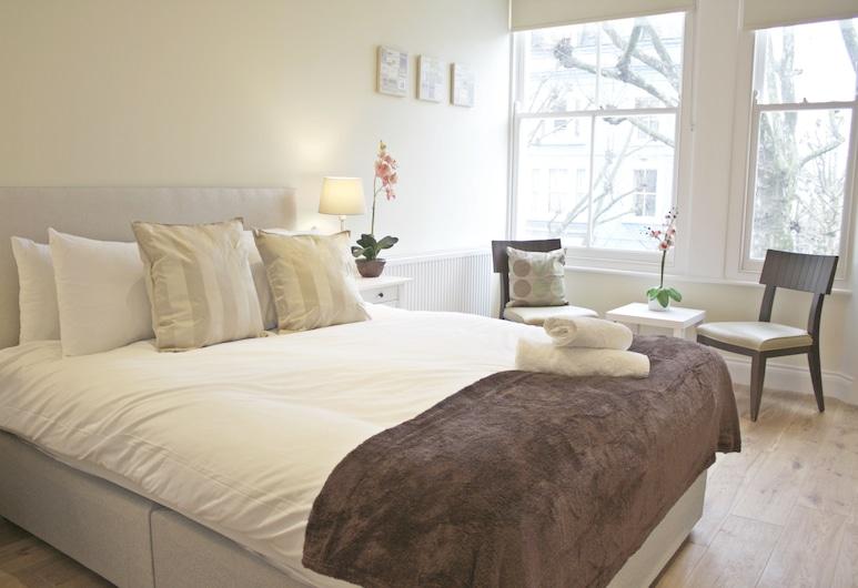 城市住宿牛津花園公寓酒店, 倫敦, 奢華公寓, 2 間臥室, 廚房, 客房