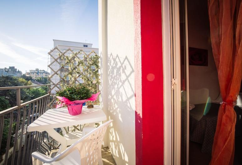 Hotel Eriale, Rímini, Habitación Deluxe, balcón, Balcón