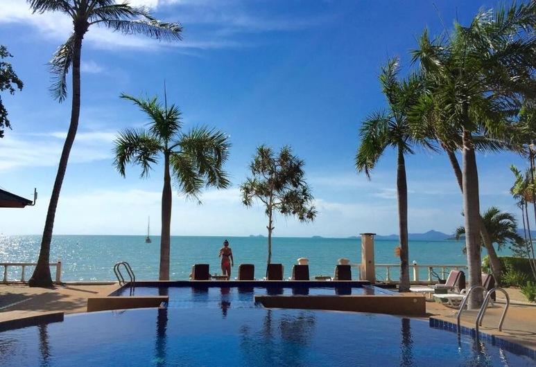 蘇梅美人魚度假村, 蘇梅島, 室外泳池