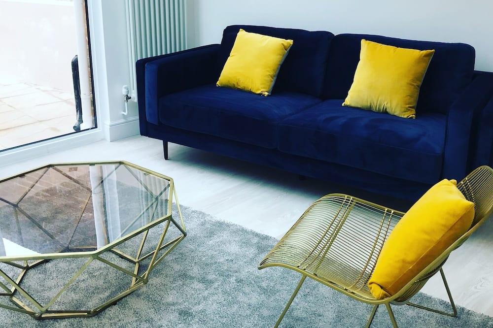 Appartement Confort, 1 lit double - Coin séjour