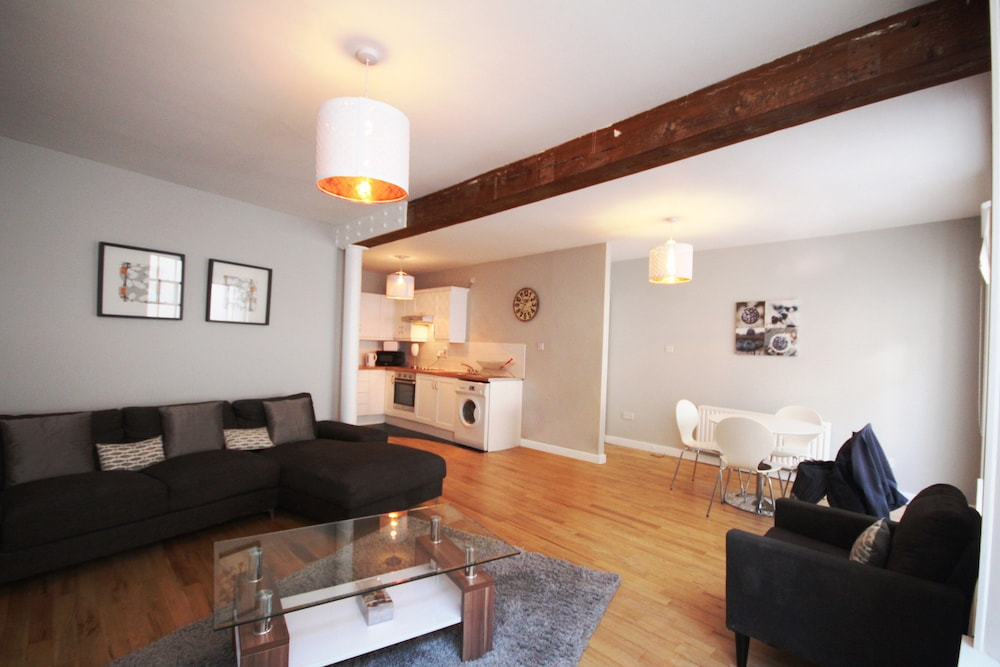 Dame Street Luxury Apartment, Dublin, Deluxe Apartment, 2 Bedrooms,  Kitchen, Living