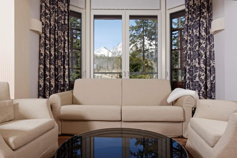Suite Comfort, 1 Quarto, Vista Lago - Área de Estar