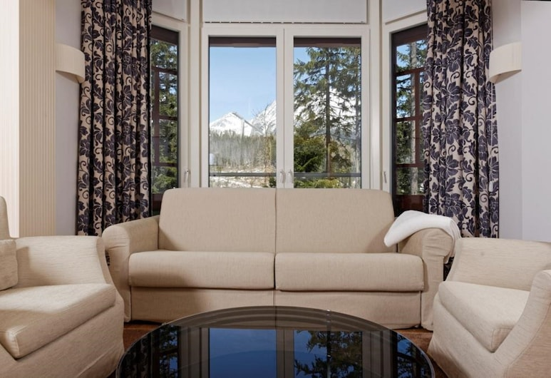 Apartments In Vila Marína, Štrba, Suite Comfort, 1 kamar tidur, pemandangan danau, Area Keluarga