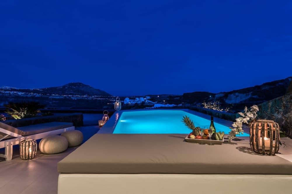 Štúdiový apartmán typu Executive, súkromný bazén, výhľad na more - Súkromný bazén