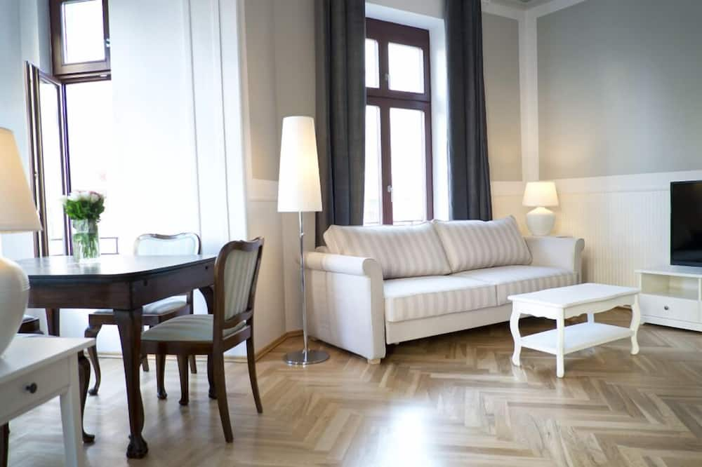 Lägenhet (Budapest) - Vardagsrum