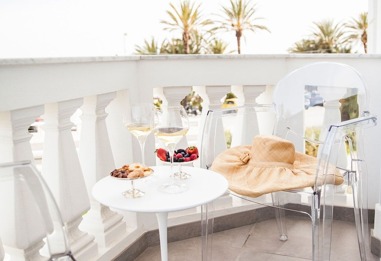 Sanremo Luxury Suites, San Remo, Deluxe Junior Suite, Sea View, Balcony, Terraza o patio