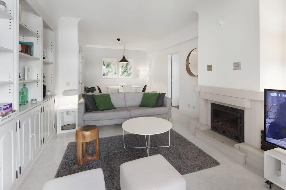 Apartmán, 1 spálňa, balkón, výhľad na oceán - Obývacie priestory
