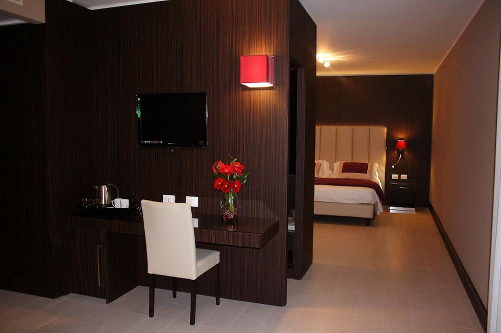 Suite, balcone - Area soggiorno