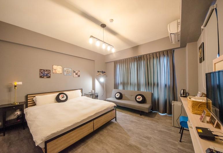 拍 R 平方, 台南市, 時尚雙人房, 1 張加大雙人床, 客房