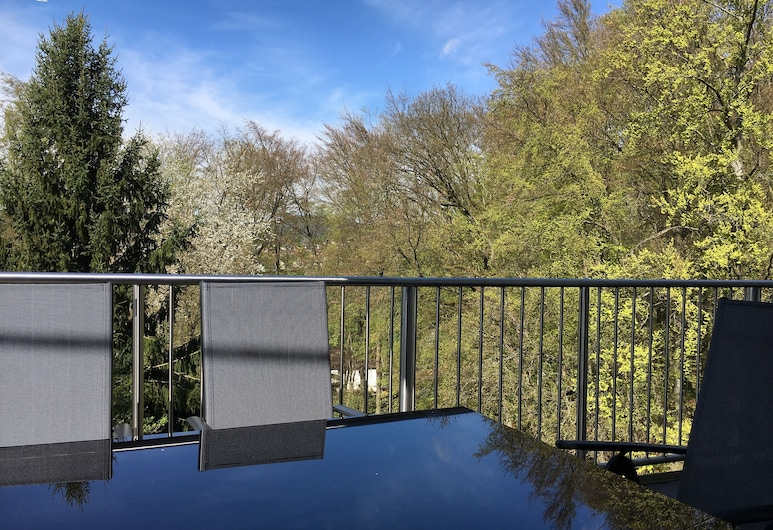 Spacious Modern Apartment - quiet area near Rhine-Main 4 Bedroom roof terrace, Wiesbaden, Balkon