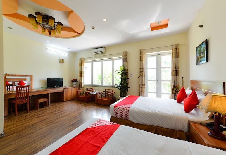 OYO 279 West Lake, Hanoi, Deluxe trokrevetna soba, Soba za goste