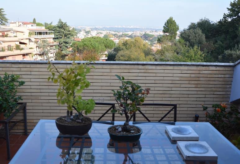 Design Apartment in Rome, Rím, Dizajnový apartmán, Terasa