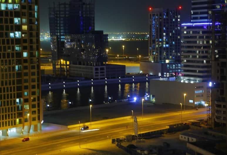 City Nights - Burj Al Nujoom Tower, Dubajus, Vaizdas iš apgyvendinimo įstaigos