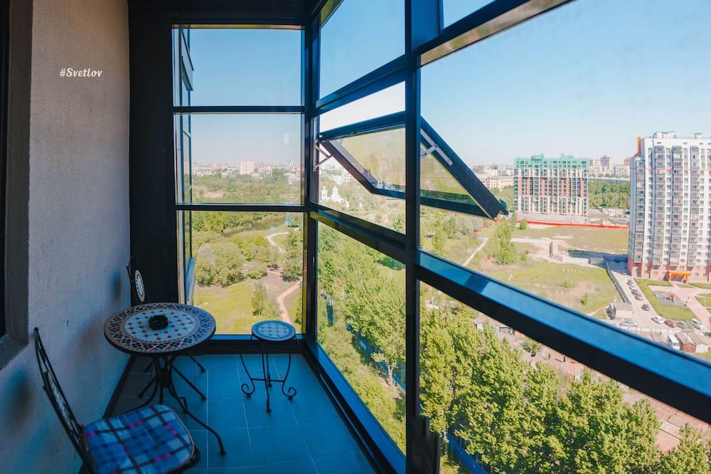 Panoramic Apartment, 2 Bedrooms, Kitchenette - Balcony