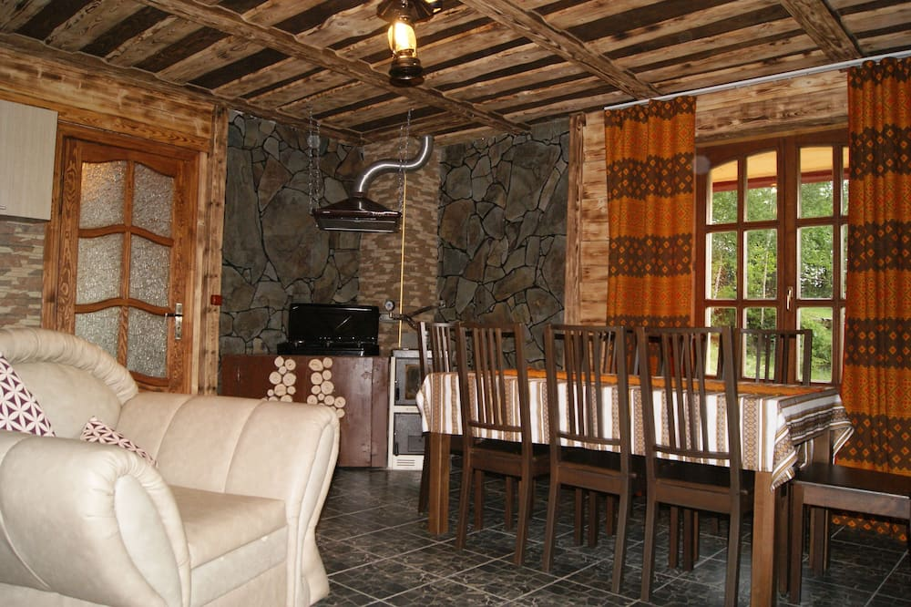 Casa familiar, 3 habitaciones, refrigerador y microondas, vista a la montaña - Servicio de comidas en la habitación