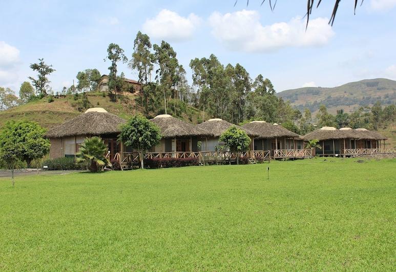 Lake Chahafi  Resort, Kisoro, Deluxe-herbergi fyrir tvo - útsýni yfir vatn, Herbergi