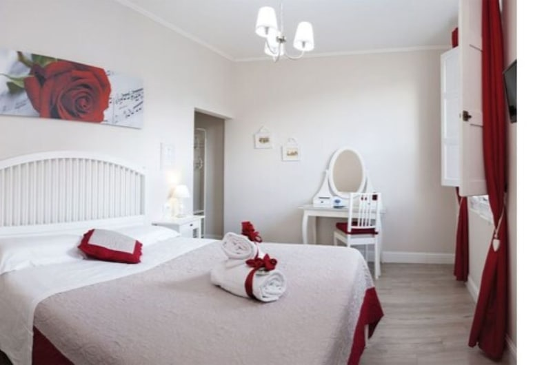 Soggiorno Arcobaleno, Florence, Superior Double Room, Guest Room