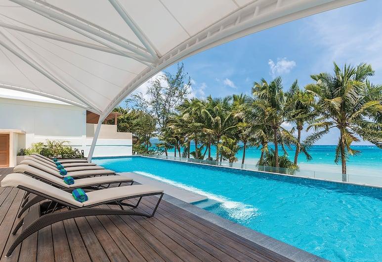 Henann Palm Beach Resort, Boracay Island, חדר דה-לוקס, חדר אורחים