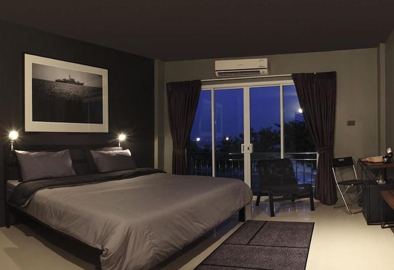 Remix Photo House Hua Hin, Hua Hin, Deluxe Room with Sea View, Habitación