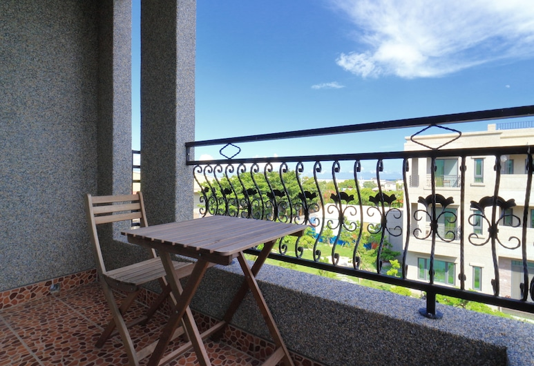 Yoho Villa, Ji'an, Superior fyrbäddsrum - balkong, Bergsutsikt