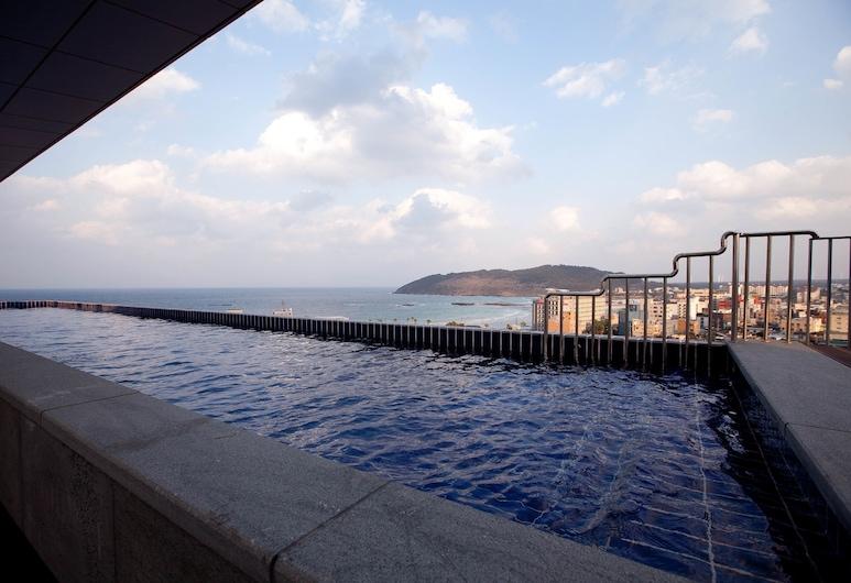 Seoubong Beach Hotel, Jeju City, Rooftop Pool