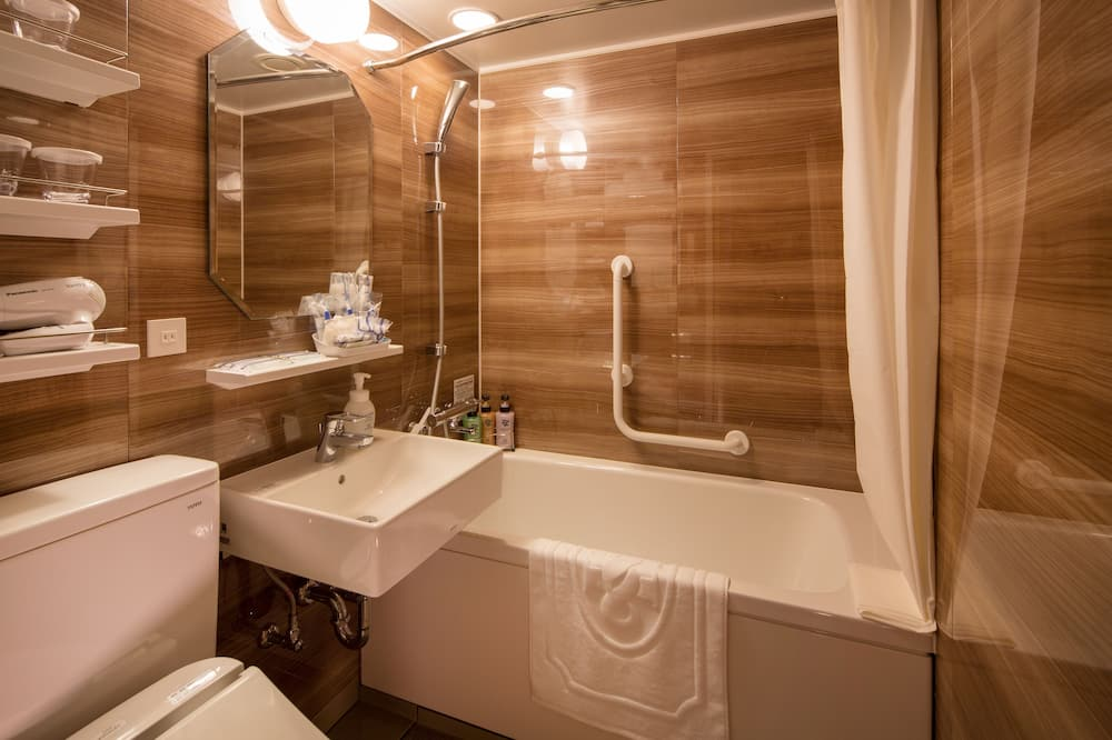 客房, 非吸煙房 (Connecting) - 浴室