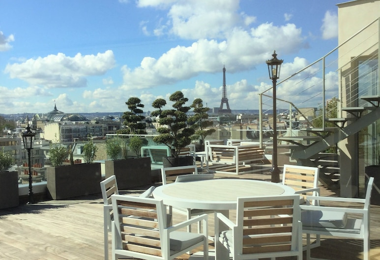 Hôtel Bowmann, Paris, Terrasse/Patio