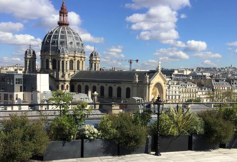 Hôtel Bowmann, Paris, Teras/Veranda
