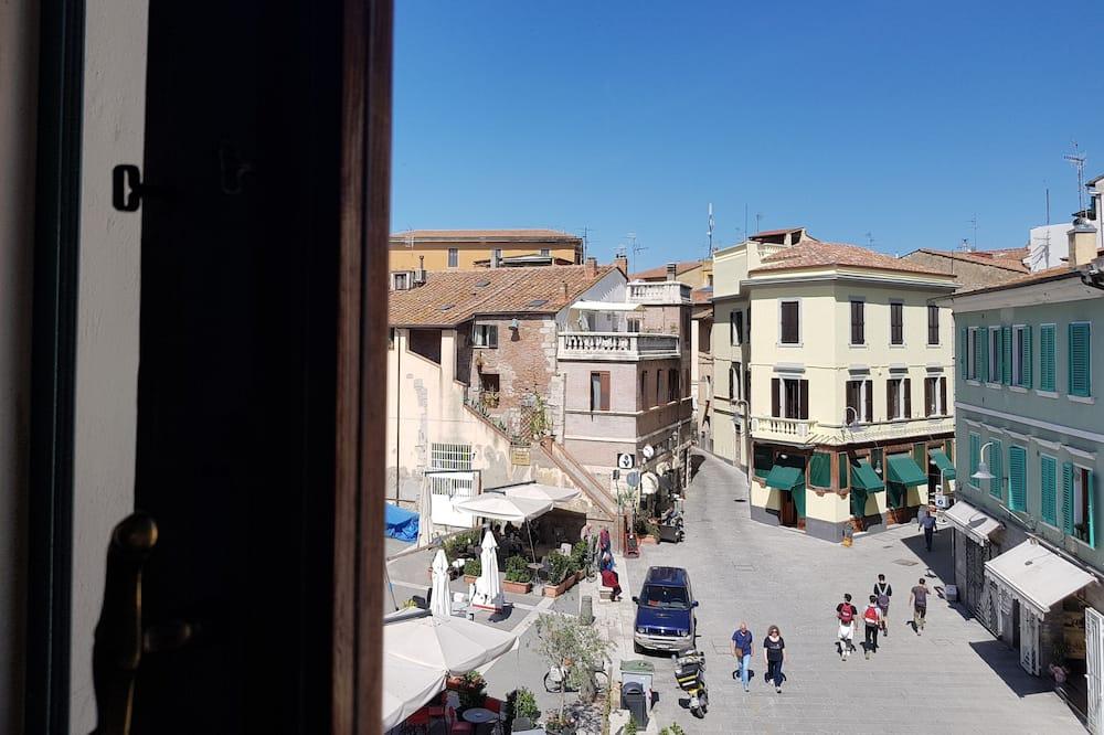 Superior-Dreibettzimmer - Blick auf die Stadt