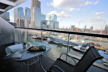Picture of Canary Wharf Luxury River view apartment in London