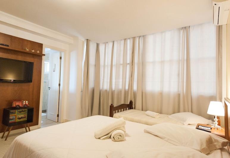Apartamento Du Centre, Gramado, Comfort driepersoonskamer, 3 slaapkamers, Toegankelijk voor mindervaliden, Aan het meer, Kameruitzicht