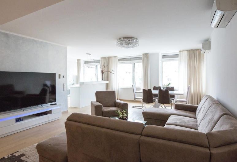 Parkring Apartments, Viin, Luxury külaliskorter, 2 magamistoaga, 2 vannitoaga, Lõõgastumisala