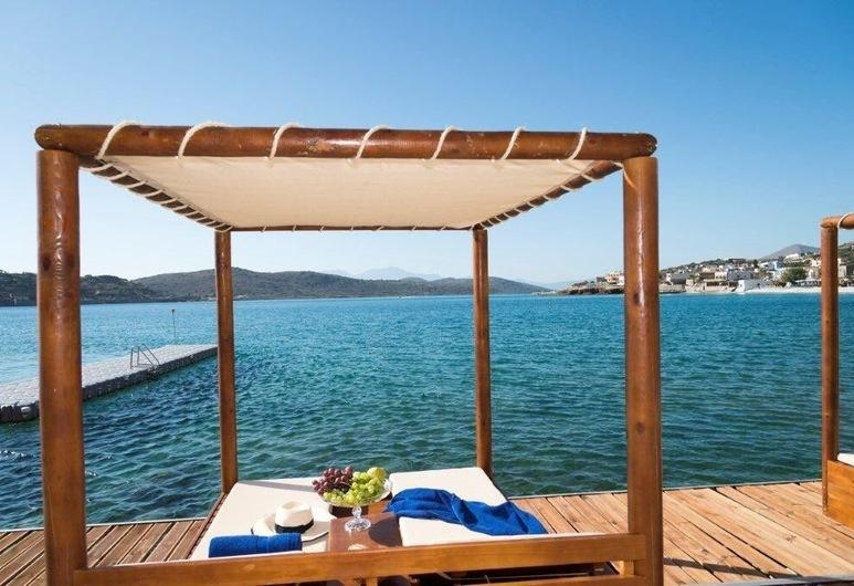 Danae, Agios Nikolaos, Pláž