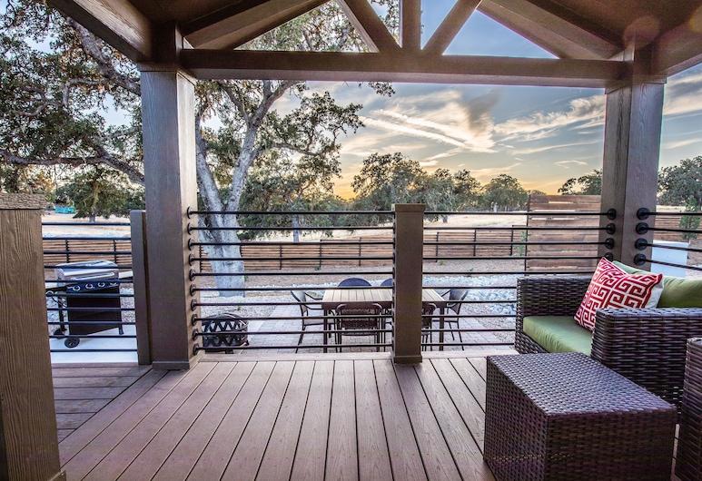 Cava Robles RV Resort, Paso Robles, Studio, 1 Queen-Bett, Terrasse/Patio