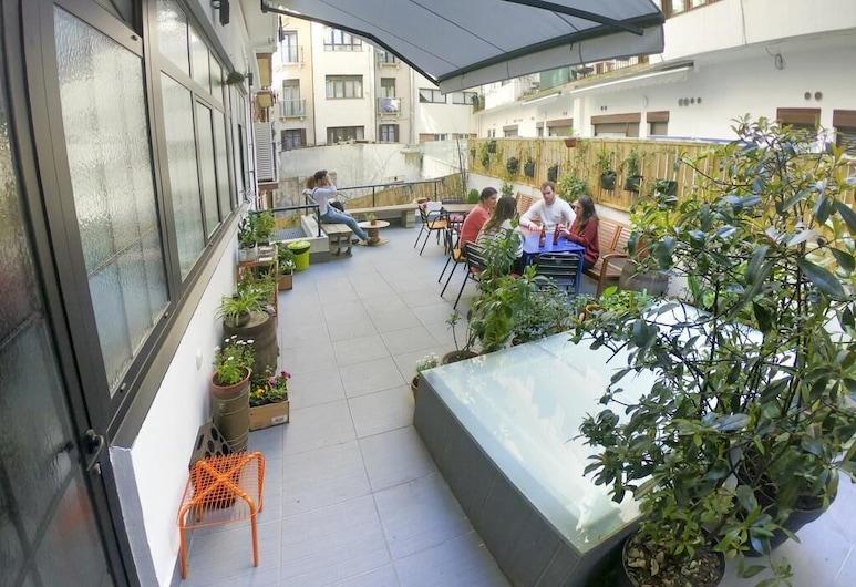 Koba Hostel, San Sebastian, Terrasse/patio