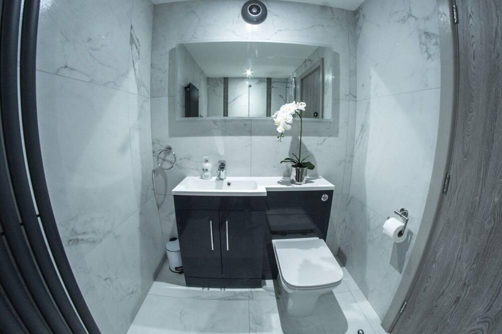 Luksus-dobbeltværelse - eget badeværelse - Badeværelse