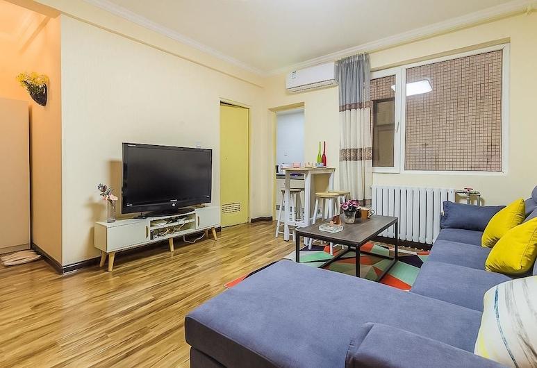 Xi'an Yiqing Xiaozhu Homestay, Xi'an, Suite, 2 Bedrooms, Living Area