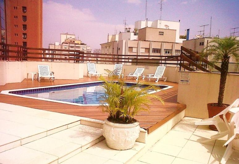Apart-Hotel Stagium Studio, เซาเปาโล, สระว่ายน้ำกลางแจ้ง