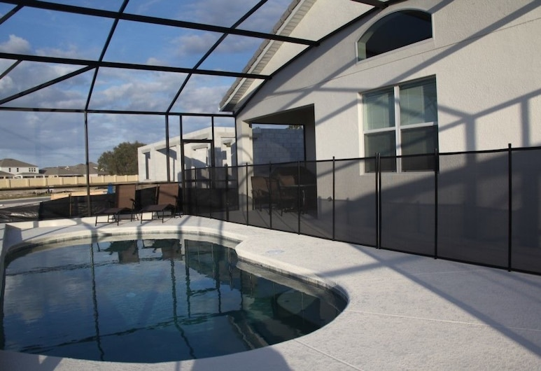 Luxury 4 bedroom home with game room, Kissimmee, Apartman, više spavaćih soba, Terasa/trijem