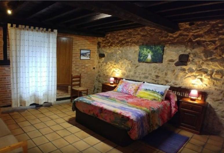 La Casa Chacinera, Candelario, Szoba kétszemélyes vagy két külön ággyal, Vendégszoba