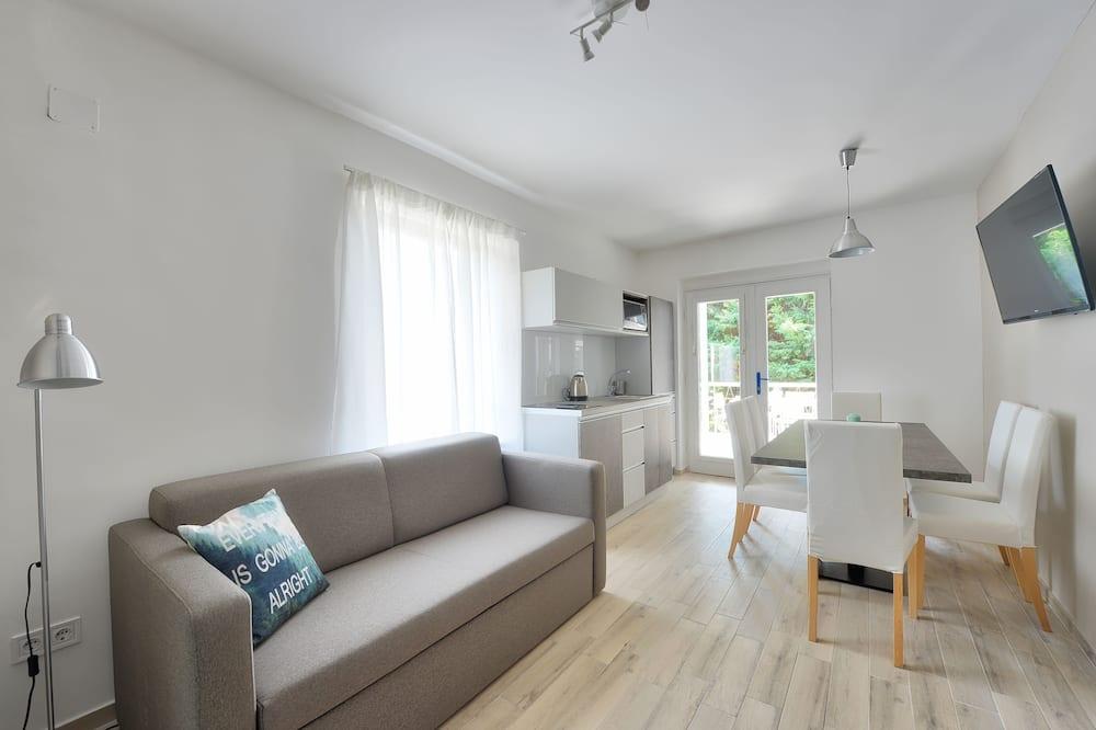 Lägenhet Premium - 2 sovrum - balkong - Vardagsrum