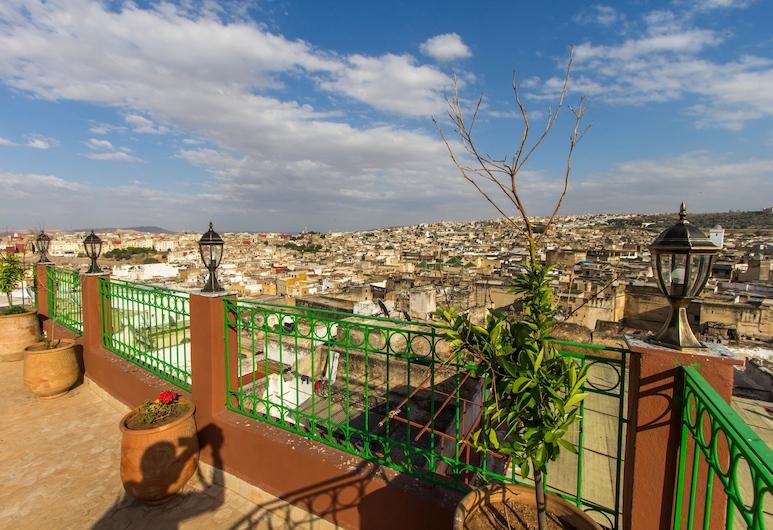 Riad Al Fassia Palace, Fès, Terrasse/Patio