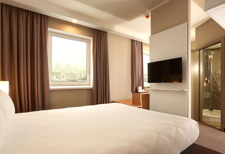 Ibis Kiev Railway Station, Kyiv, Premium Double Room, 1 Double Bed, Guest Room