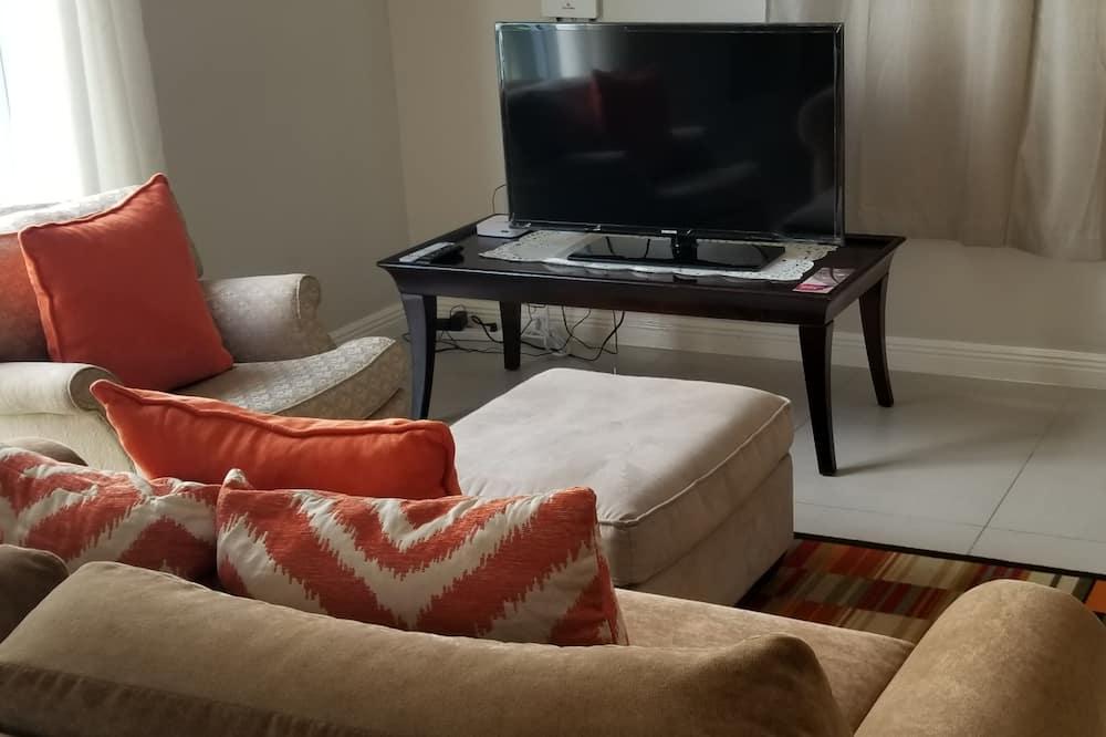 Elite apartman, 1 hálószobával, fürdőszobával - Nappali